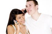 coupleonphone
